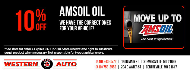 Amsoil Oil Special