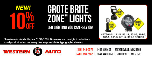 New Grote Brite Zone Lights
