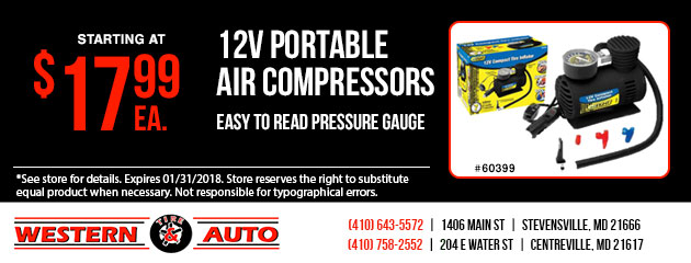 12V Portable Air Compressors Special