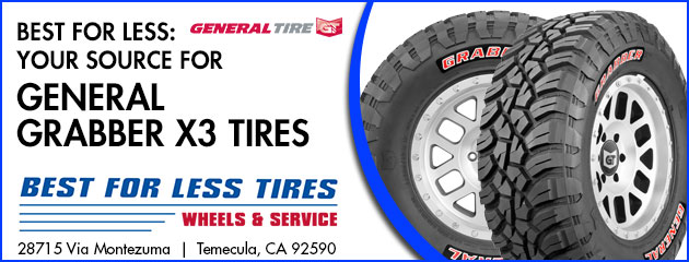 Best for Less: Your Source for General Grabber X3 Tires
