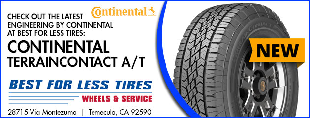 Continental at Best for Less Tires: Continental TerrainContact A/T Special