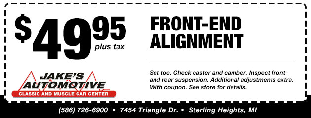 Front End Alignment Special