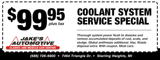 Coolant System Special