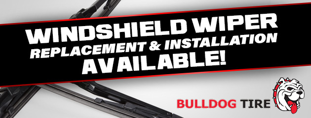 Windshield Wiper Replacement and Installation Available!