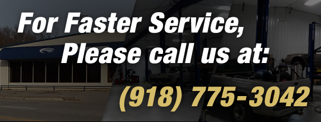 For Faster Service