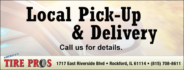 Local Pick up and Delivery Available!