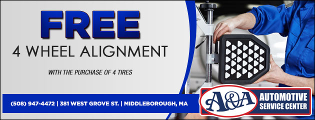 Free 4 Wheel Alignment Special