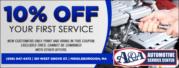 10% Off First Service Special