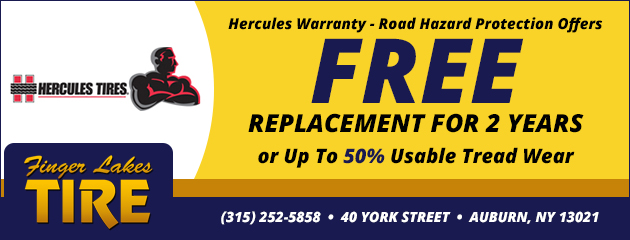 Hercules Warranty - Road Hazard Protection Special