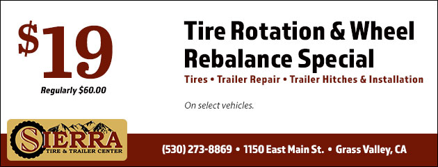 Tire Rotation and Wheel Rebalance Special