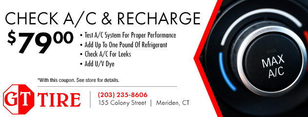 Check A/C And Recharge - $79.00