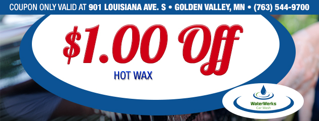 $1.00 Off Hot Wax - Golden Valley