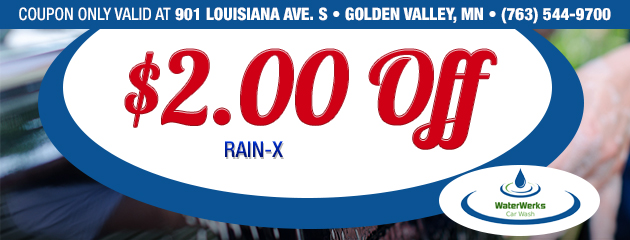 $2.00 off RainX - Golden Valley