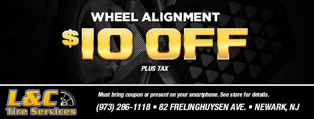 $10.00 Wheel Alignment