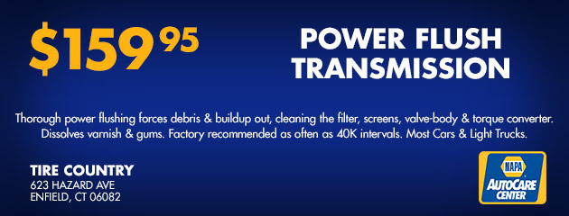 Power Flush Transmission - $159.95