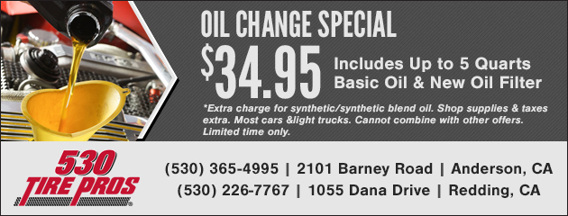 Oil Change Special - $34.95