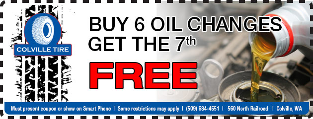 Buy 6 Oil Changes and the 7th will be FREE