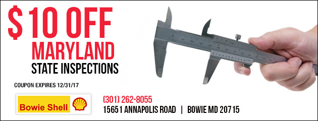 $10 Off Maryland State Inspections
