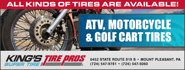 ATV, Motorcycle and Golf Cart Tires