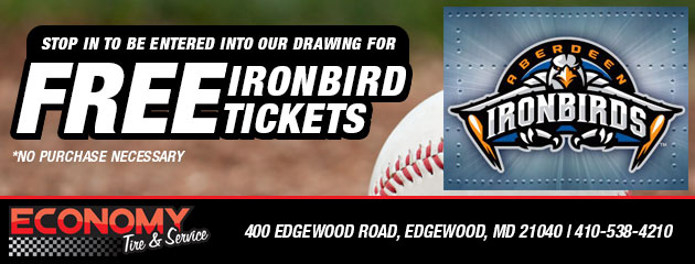 Free Ironbirds Tickets