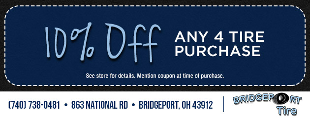 10% Off any 4 Tire Purchase