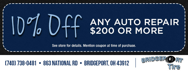 10% Any Auto repair $200 or More!