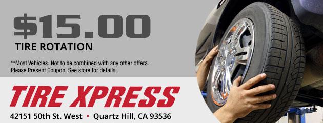 Tires Coupons Quartz Hill Ca Lancaster Ca Palmdale Ca Tire Xpress