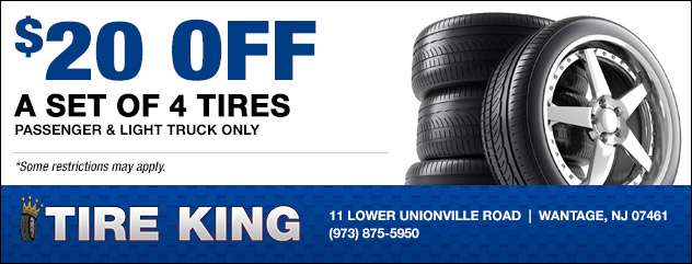 $20 Off a set of tires