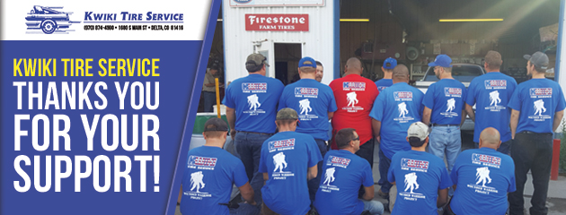 Kwiki Tire Service Thanks You For Your Support!