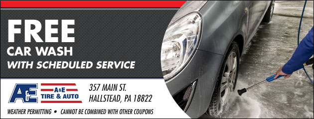 Free Car Wash with Scheduled Service