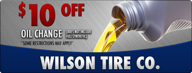 Oil Change Discount
