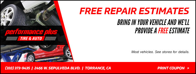 Free Repair Estimates Special