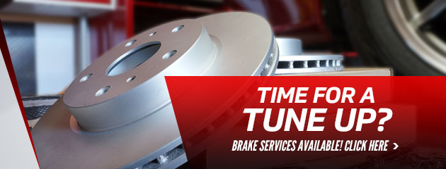 Time For A Tune-Up? Brake Service Available!