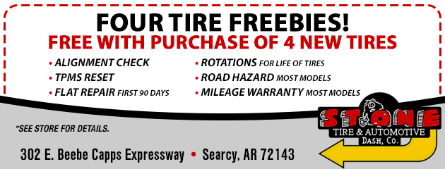 Four Tire Freebies!