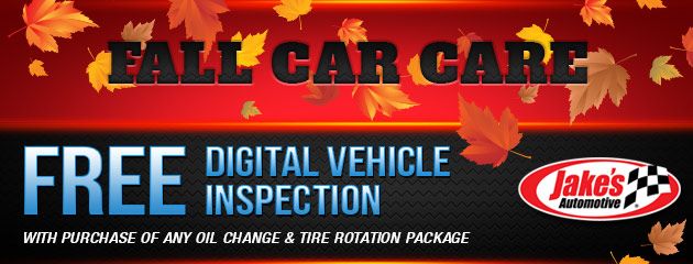 Fall Car Care Special
