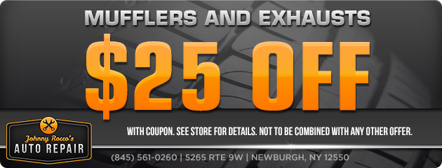 Take $25 OFF Mufflers and Exhausts