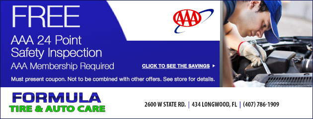 Free AAA Safetly Inspection