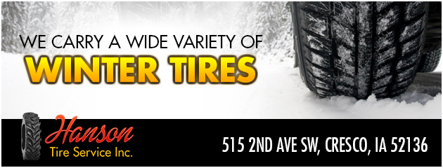 We carry a wide variety of Winter Tires!
