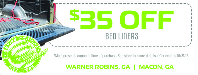 $35 Off Bed Liners
