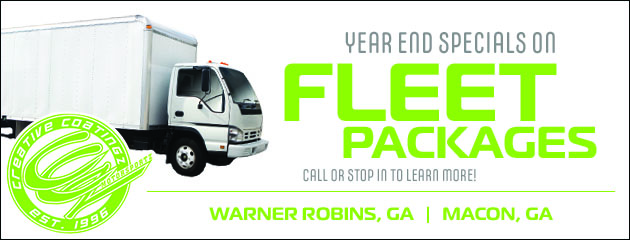 Year End Specials on Fleet Package