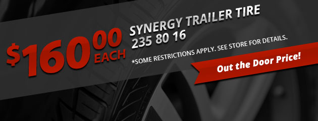 Synergy Trailer Tire Special