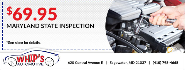 $69.95 Maryland State Inspection Special