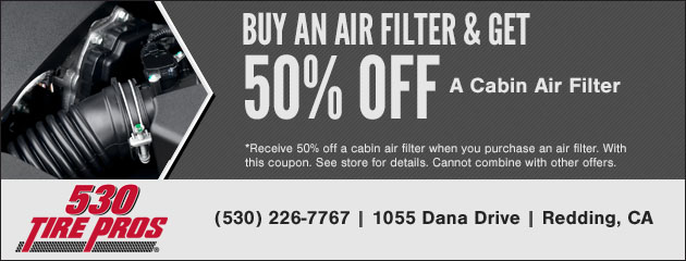 Buy Air Filter, Get 50% Off Cabin Air Filter
