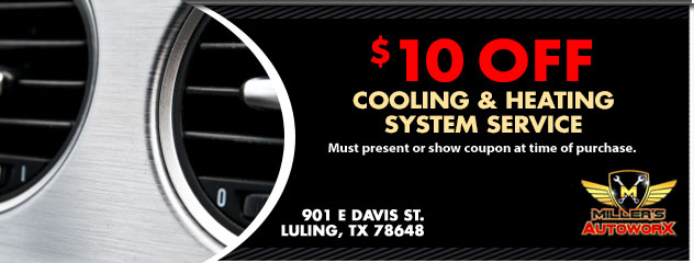 $10 Off Cooling and Heating System Service