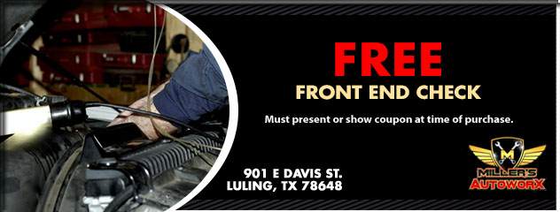 Free Front End Check