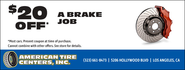 Americas Tire Glendale >> Hollywood Ca Tires Auto Repair Shop American Tire Centers