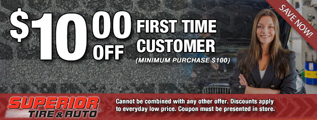 $10 Off First Time Customer Special