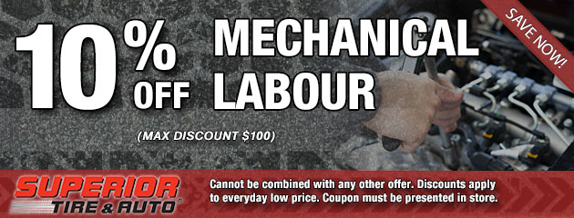 10% Off Mechanical Labour Special