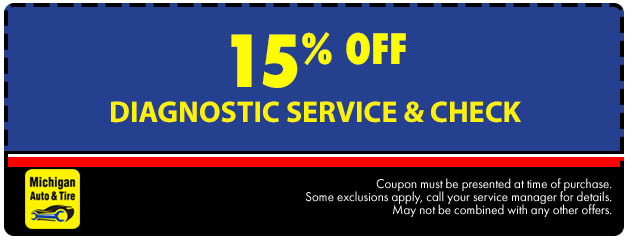 15% Off Diagnostic Service and Check