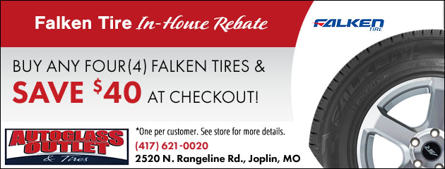 Falken Tire In-House Rebate